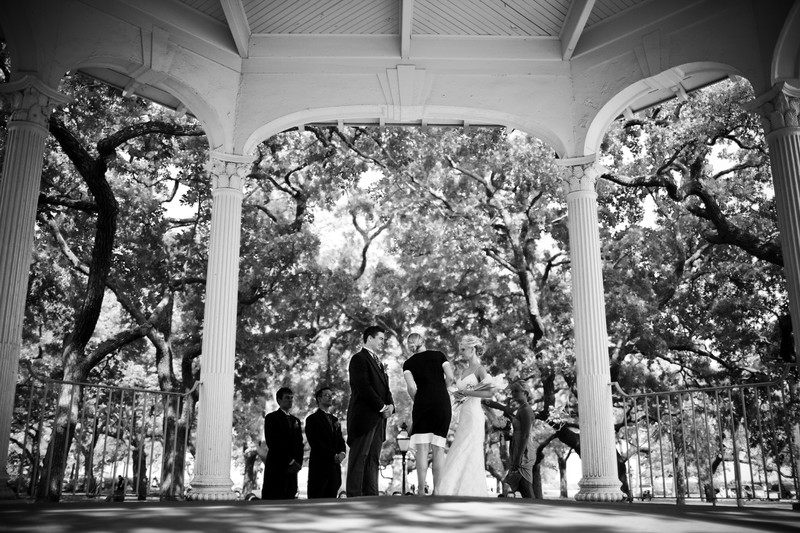 White Point Garden Charleston Wedding Photography