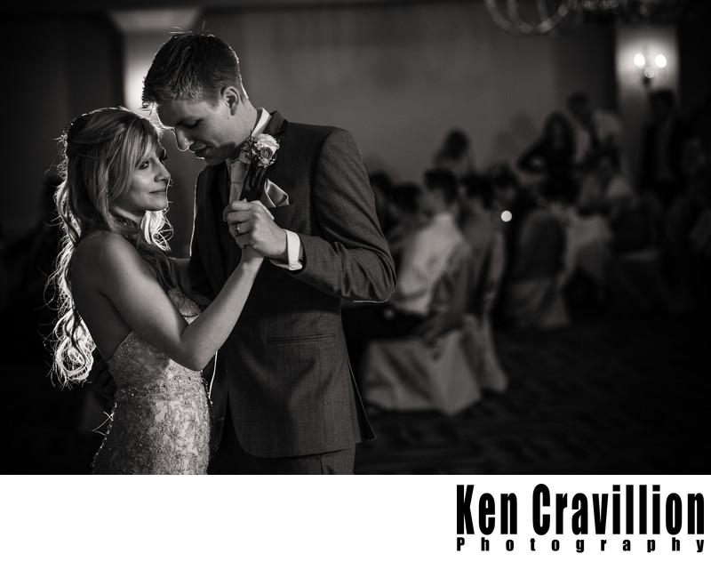 Heidel House Green Lake First Dance Wedding Photo