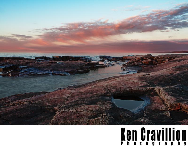 Artist Point Grand Marais Lake Superior Photo
