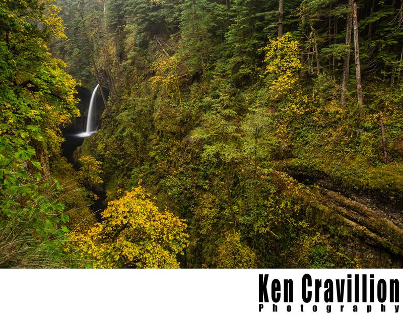 Metlako Falls Columbia River Gorge Oregon Photo