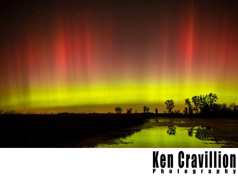 Northern Lights Aurora Wisconsin Photo