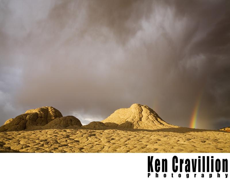 White Pocket Arizona Rainbow Sandstone Photo
