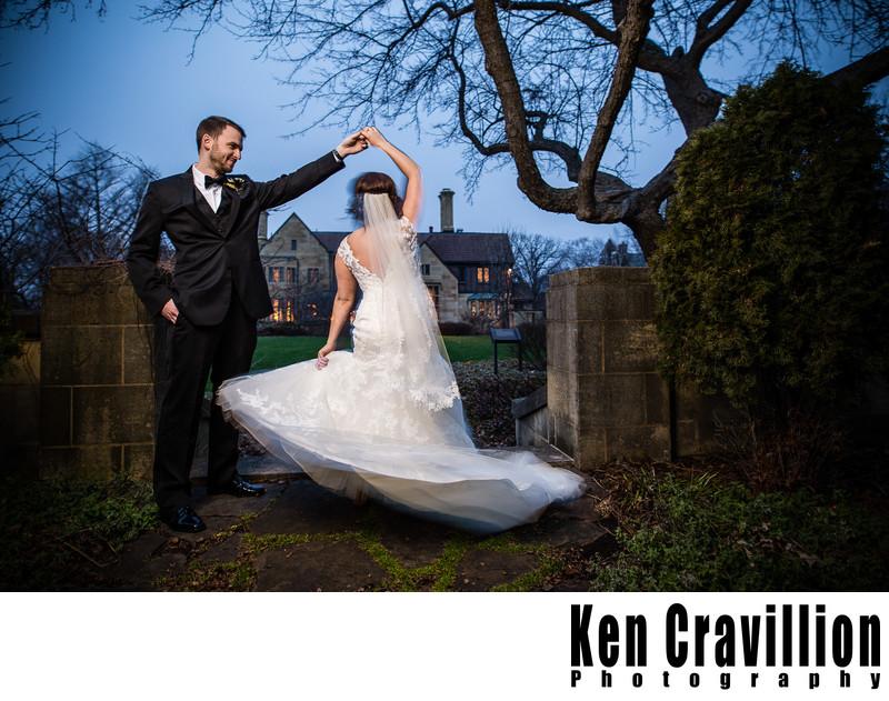 Paine Art Center Oshkosh Wedding Photography 012