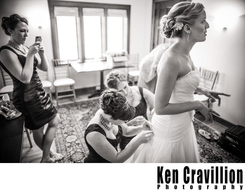 Paine Art Center Oshkosh Wedding Photography 048