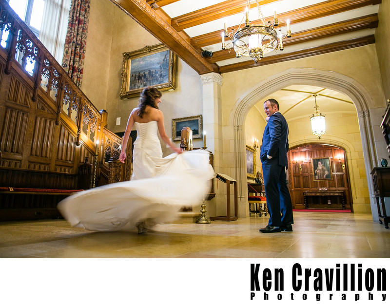 Paine Art Center Oshkosh Wedding Photography 093