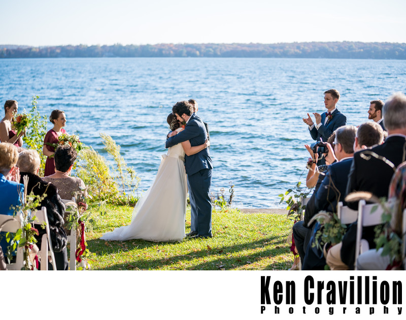 Heidel House Green Lake Fall Wedding Photos 078