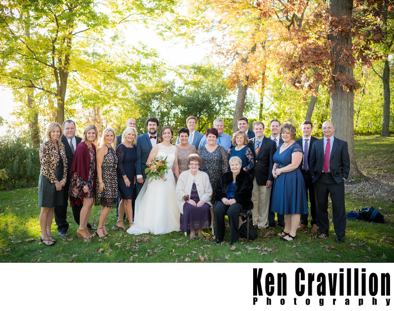 Heidel House Green Lake Fall Wedding Photos 082