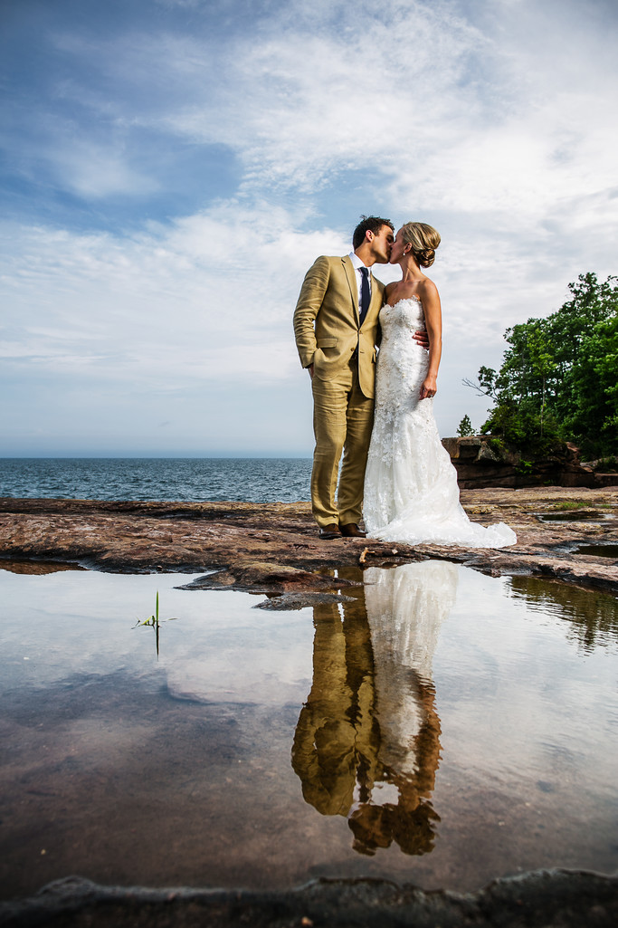 Madeline Island Wedding Photography