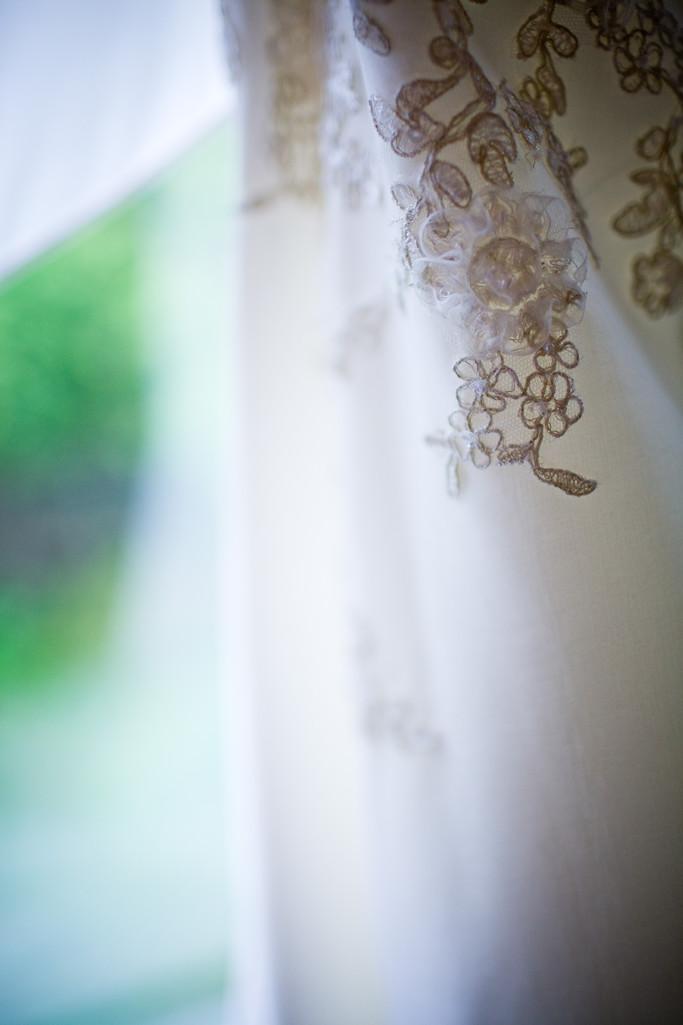 Wedding Dress Detail Photograph