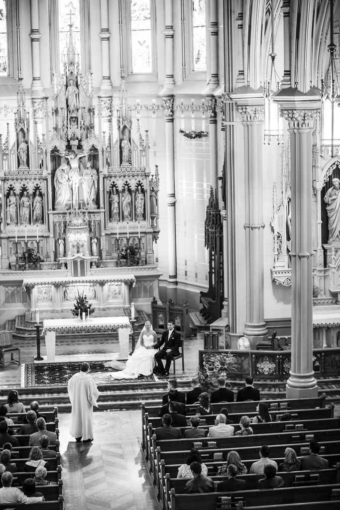 St Marys Oshkosh Wedding Photography