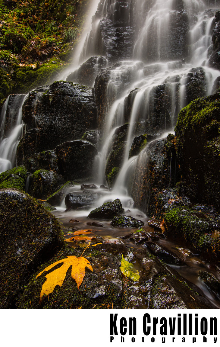 Fairy Falls Columbia River Gorge Oregon Photograph