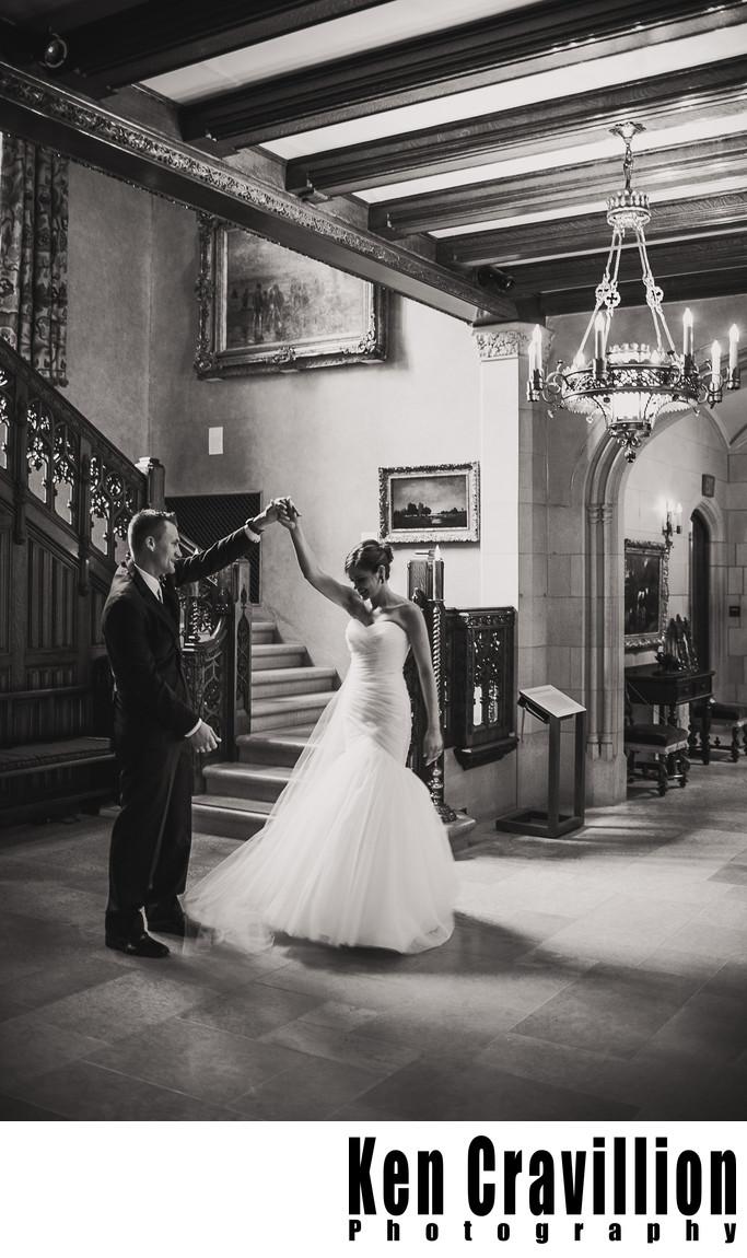 Paine Art Center Oshkosh Wedding Photography 031