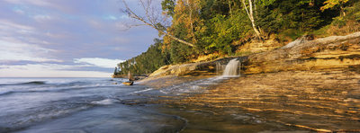 Miners Beach Falls, Pictured Rocks National Lakeshore