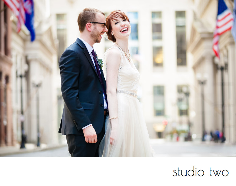 Chicago Board of Trade Wedding Photography Team