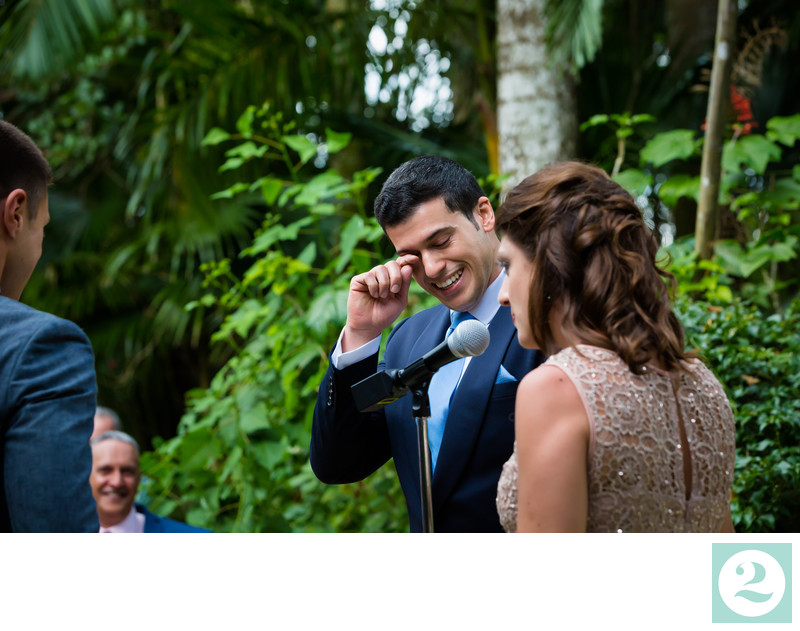 Gio Wipes Away Tear at Tommy's Vows