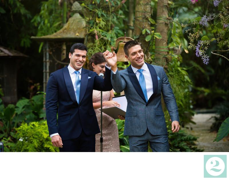 Celebratory Wedding Exit