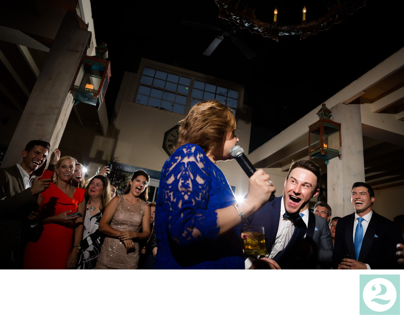 Funny Candid Wedding Toast Moment