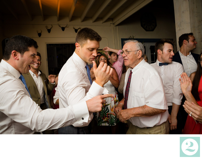 Grooms Dace with Grandpa