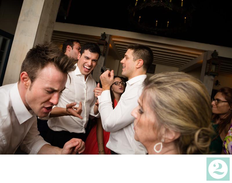 Best Dance Floor Candid Wedding Photography
