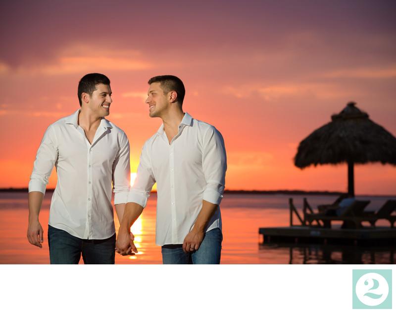 Destination Wedding Photography at Beach Resort