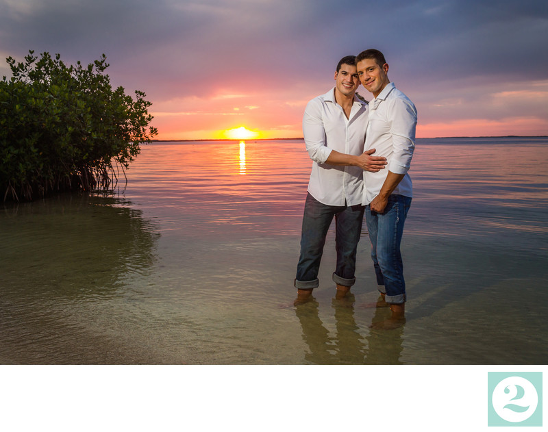Key Largo destination wedding photographers