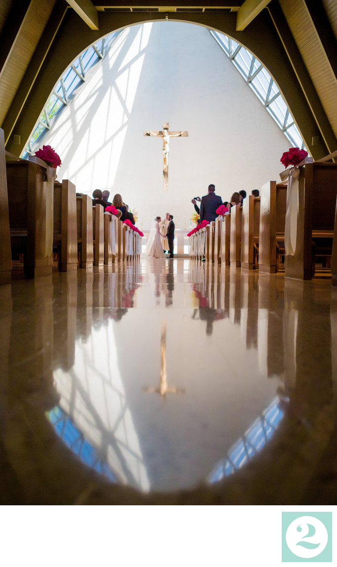 Woodlands Academy of the Sacred Heart Wedding Ceremony