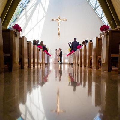 Woodlands Academy of the Sacred Heart Wedding Ceremony