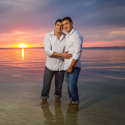 Key Largo destination wedding photographers