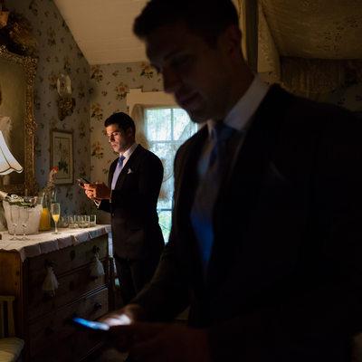 Two Grooms Instagram their Wedding