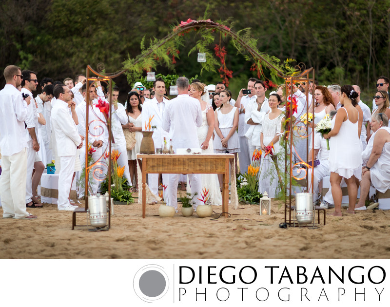 Destination Outdoor Wedding Ceremony in Brazil