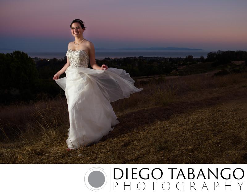 Top Bridal Portrait in Santa Cruz