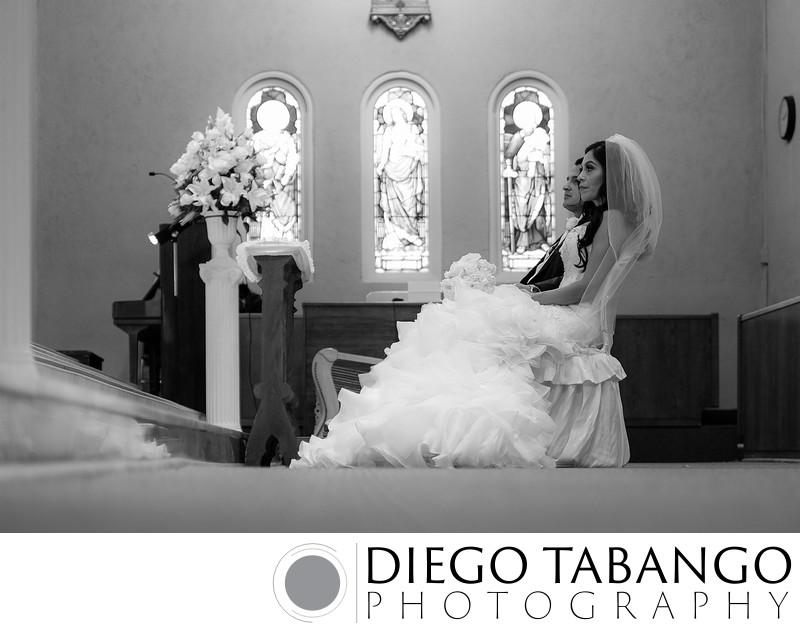 Wedding Photograph in Church