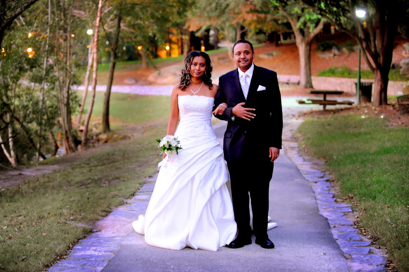 Ethiopian Wedding Photographer in Atlanta Lenox Park