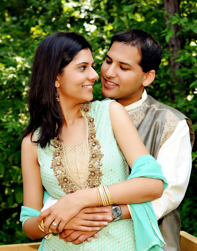 Indian Wedding Engagement Orlando Photographers FL