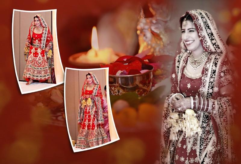 Lawrenceville Wedding Photographer Indian Album Layout