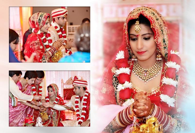 Fulton County Wedding Photographer Indian Album Design