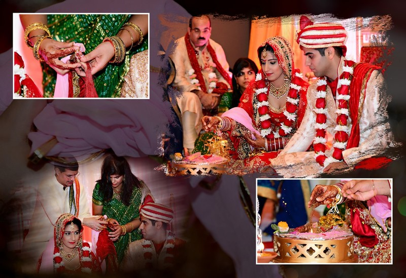 Tampa Wedding Photographer Indian Album Layout