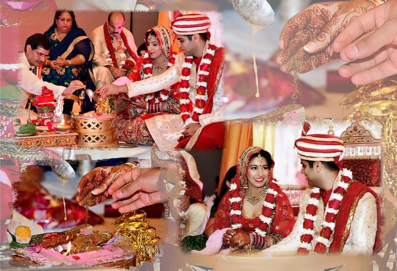 Forsyth County Wedding Photographer Indian Album Design