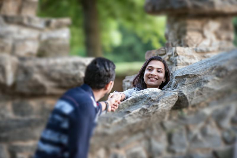 Photographers Atlanta Indian Engagement Piedmont Park