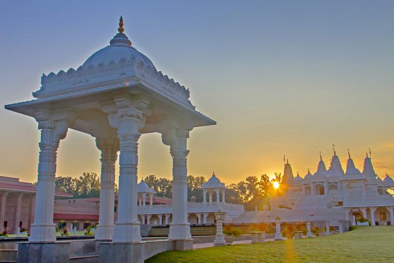 Atlanta Engagement Photographers Hindu Temple BAPS