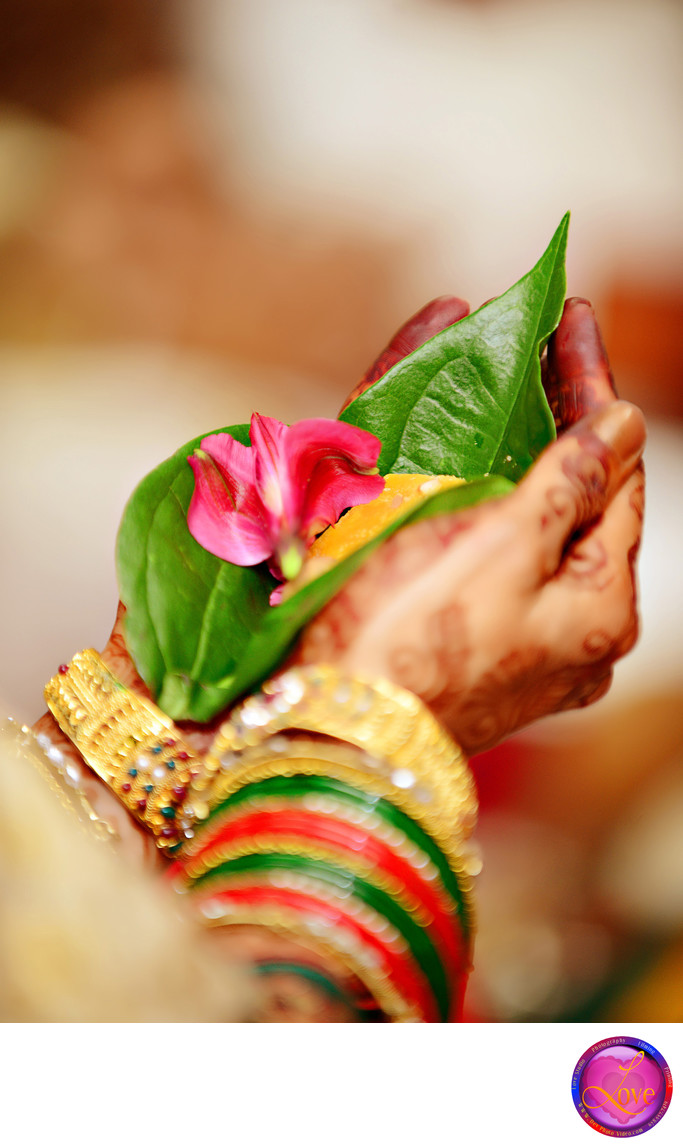 Indian Bride Hand Wedding Photography Candid