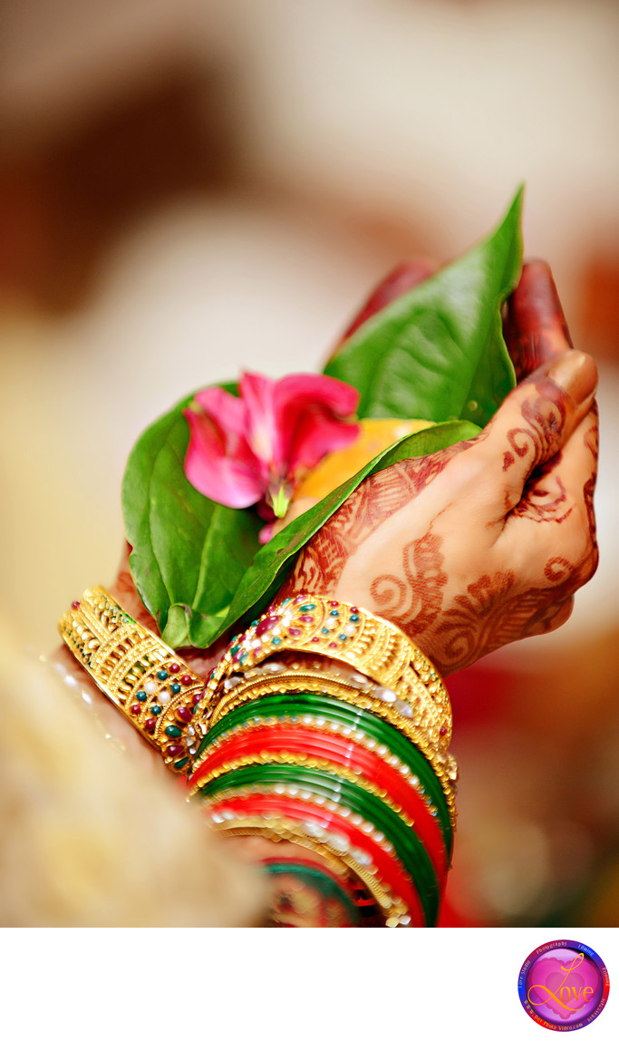 Henna Hands Indian Bride Wedding Atla
