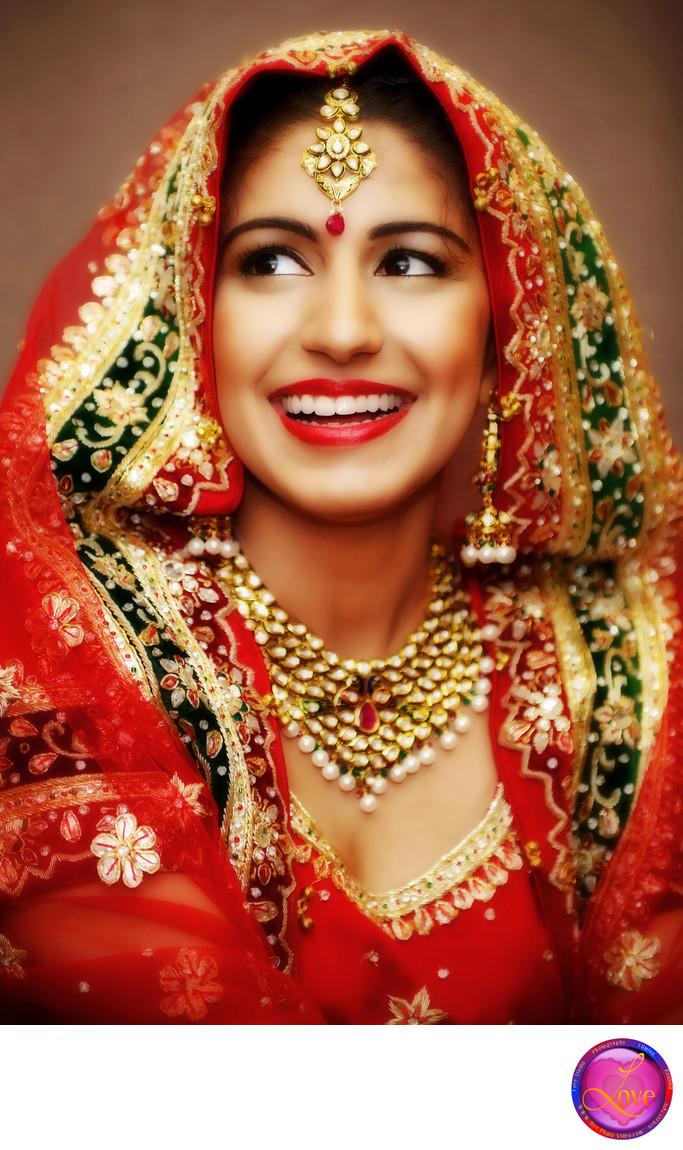 Indian Wedding Bride Photographer Action Shot