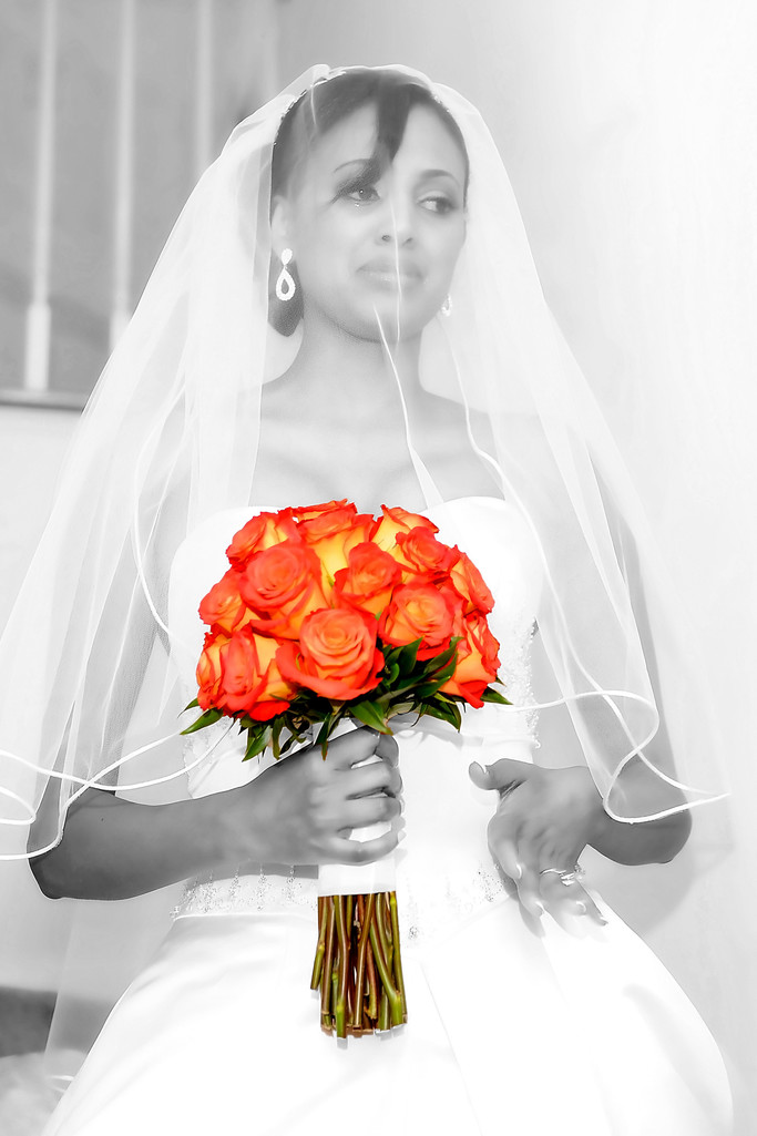 Best Ethiopian Wedding Photographers Tears of Joy Bride