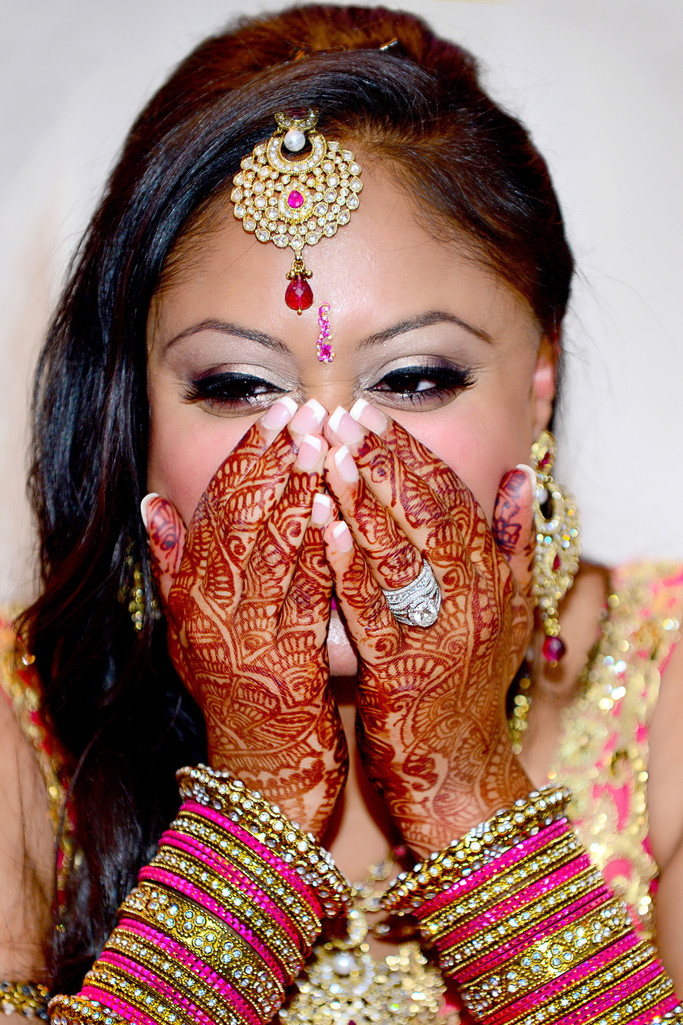 Atlanta Indian Wedding Photographer Mehndi Ring Hilton