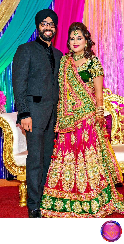 Sikh Wedding Photographers in Atlanta Reception