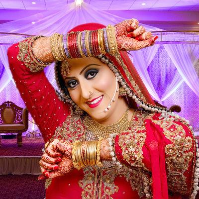 Indian Pakistani Wedding Photographer Bride at Occasion