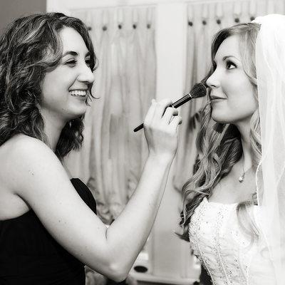 Bride Get Ready Final Touch up Wedding in Atlanta