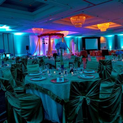 Atlanta Reception Wedding Photographer Westin Hotel