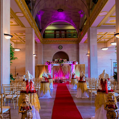 Macon Indian Wedding Terminal Station Photographer